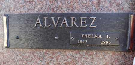 ALVAREZ, THELMA I. - Yavapai County, Arizona | THELMA I. ALVAREZ - Arizona Gravestone Photos