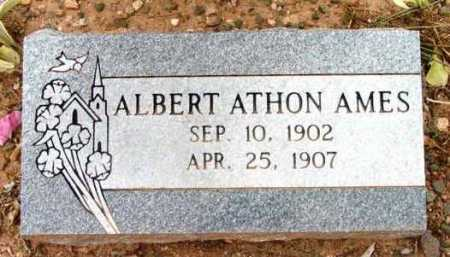 AMES, ALBERT ATHON - Yavapai County, Arizona   ALBERT ATHON AMES - Arizona Gravestone Photos
