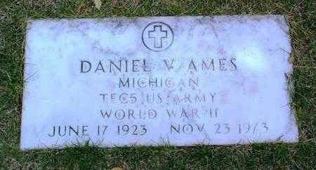 AMES, DANIEL V. - Yavapai County, Arizona | DANIEL V. AMES - Arizona Gravestone Photos