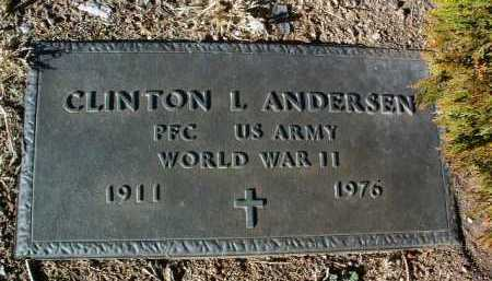 ANDERSEN, CLINTON LEROY - Yavapai County, Arizona | CLINTON LEROY ANDERSEN - Arizona Gravestone Photos