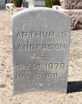 ANDERSON, ARTHUR S. - Yavapai County, Arizona | ARTHUR S. ANDERSON - Arizona Gravestone Photos