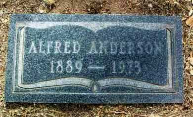 ANDERSON, ALFRED - Yavapai County, Arizona | ALFRED ANDERSON - Arizona Gravestone Photos