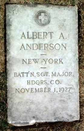 ANDERSON, ALBERT A. - Yavapai County, Arizona | ALBERT A. ANDERSON - Arizona Gravestone Photos
