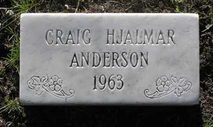 ANDERSON, CRAIG HJALMAR - Yavapai County, Arizona   CRAIG HJALMAR ANDERSON - Arizona Gravestone Photos