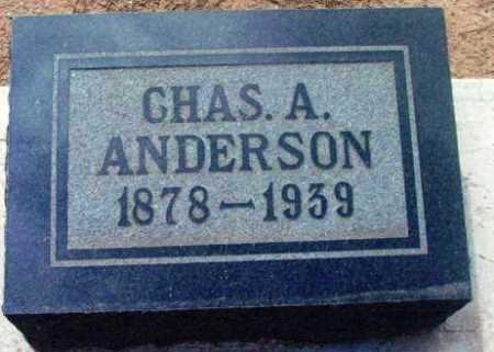 ANDERSON, CHARLES A. - Yavapai County, Arizona | CHARLES A. ANDERSON - Arizona Gravestone Photos