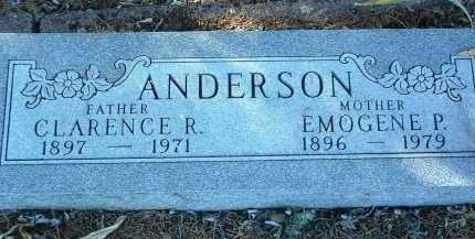 ANDERSON, CLARENCE R. - Yavapai County, Arizona | CLARENCE R. ANDERSON - Arizona Gravestone Photos