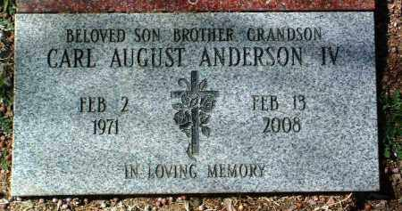 ANDERSON, CARL AUGUST - Yavapai County, Arizona | CARL AUGUST ANDERSON - Arizona Gravestone Photos