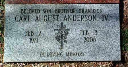 ANDERSON, CARL AUGUST - Yavapai County, Arizona   CARL AUGUST ANDERSON - Arizona Gravestone Photos