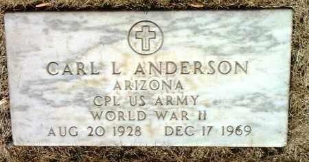 ANDERSON, CARL LEON - Yavapai County, Arizona   CARL LEON ANDERSON - Arizona Gravestone Photos