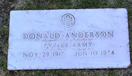 ANDERSON, DONALD C. - Yavapai County, Arizona | DONALD C. ANDERSON - Arizona Gravestone Photos