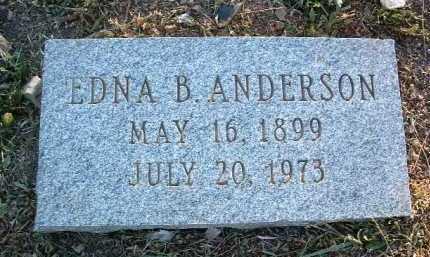 ANDERSON, EDNA - Yavapai County, Arizona | EDNA ANDERSON - Arizona Gravestone Photos