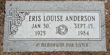 ANDERSON, ERIS LOUISE - Yavapai County, Arizona   ERIS LOUISE ANDERSON - Arizona Gravestone Photos