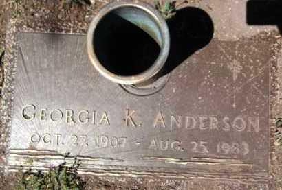 CALHOUN ANDERSON, G. - Yavapai County, Arizona | G. CALHOUN ANDERSON - Arizona Gravestone Photos