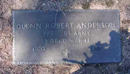 ANDERSON, GLENN ROBERT - Yavapai County, Arizona | GLENN ROBERT ANDERSON - Arizona Gravestone Photos