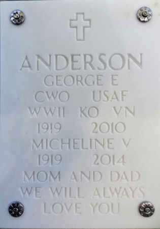 ANDERSON, GEORGE EDMUND - Yavapai County, Arizona   GEORGE EDMUND ANDERSON - Arizona Gravestone Photos