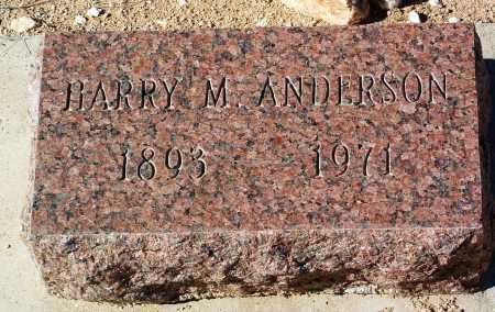 ANDERSON, HARRY M. - Yavapai County, Arizona   HARRY M. ANDERSON - Arizona Gravestone Photos