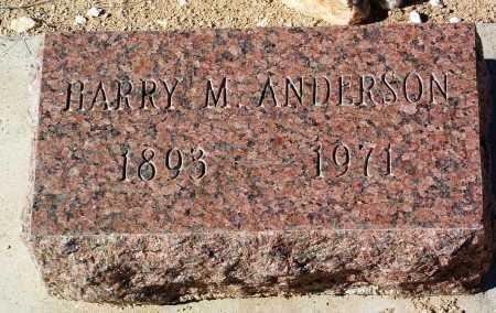ANDERSON, HARRY M. - Yavapai County, Arizona | HARRY M. ANDERSON - Arizona Gravestone Photos