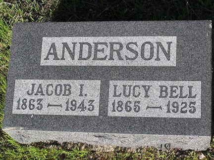 ANDERSON, LUCY BELL - Yavapai County, Arizona | LUCY BELL ANDERSON - Arizona Gravestone Photos