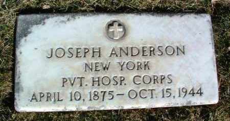 ANDERSON, JOSEPH - Yavapai County, Arizona | JOSEPH ANDERSON - Arizona Gravestone Photos