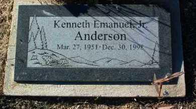 ANDERSON, KENNETH E. - Yavapai County, Arizona | KENNETH E. ANDERSON - Arizona Gravestone Photos