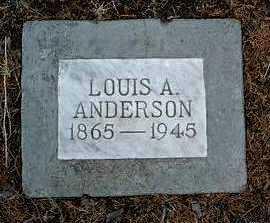 ANDERSON, LOUIS AUGUSTUS - Yavapai County, Arizona | LOUIS AUGUSTUS ANDERSON - Arizona Gravestone Photos