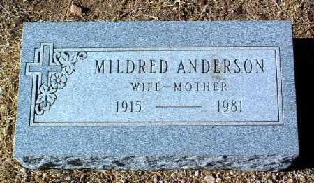 ANDERSON, MILDRED - Yavapai County, Arizona | MILDRED ANDERSON - Arizona Gravestone Photos