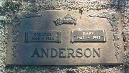 ARMSTRONG ANDERSON, MARY MILLER - Yavapai County, Arizona | MARY MILLER ARMSTRONG ANDERSON - Arizona Gravestone Photos