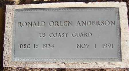 ANDERSON, RONALD ORLEN - Yavapai County, Arizona | RONALD ORLEN ANDERSON - Arizona Gravestone Photos