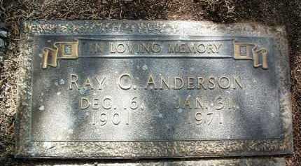 ANDERSON, RAYMOND C. - Yavapai County, Arizona | RAYMOND C. ANDERSON - Arizona Gravestone Photos