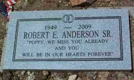 ANDERSON, ROBERT E. - Yavapai County, Arizona | ROBERT E. ANDERSON - Arizona Gravestone Photos