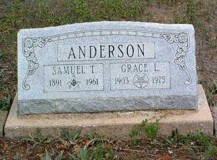 ANDERSON, SAMUEL TILDEN - Yavapai County, Arizona   SAMUEL TILDEN ANDERSON - Arizona Gravestone Photos