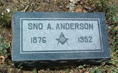 ANDERSON, SNO ANDREW, JR. - Yavapai County, Arizona | SNO ANDREW, JR. ANDERSON - Arizona Gravestone Photos