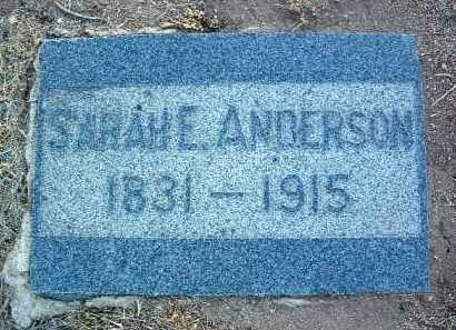 ANDERSON, SARAH ELLEN - Yavapai County, Arizona | SARAH ELLEN ANDERSON - Arizona Gravestone Photos