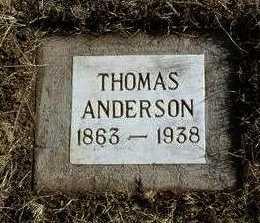 ANDERSON, THOMAS - Yavapai County, Arizona | THOMAS ANDERSON - Arizona Gravestone Photos