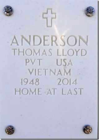 ANDERSON, THOMAS LLOYD - Yavapai County, Arizona   THOMAS LLOYD ANDERSON - Arizona Gravestone Photos