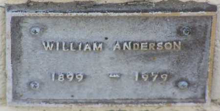ANDERSON, WILLIAM A - Yavapai County, Arizona | WILLIAM A ANDERSON - Arizona Gravestone Photos