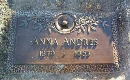 WALDHART ANDRES, ANNA MARY - Yavapai County, Arizona | ANNA MARY WALDHART ANDRES - Arizona Gravestone Photos