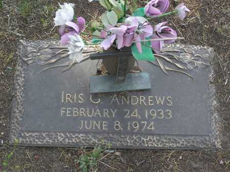 ANDREWS, IRIS GERTRUDE - Yavapai County, Arizona | IRIS GERTRUDE ANDREWS - Arizona Gravestone Photos