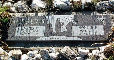 ANDREWS, NONNIE HAZEL - Yavapai County, Arizona   NONNIE HAZEL ANDREWS - Arizona Gravestone Photos