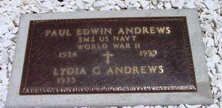 ANDREWS, PAUL EDWIN - Yavapai County, Arizona | PAUL EDWIN ANDREWS - Arizona Gravestone Photos