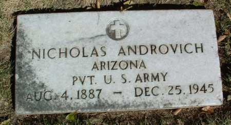 ANDROVICH, NICHOLAS - Yavapai County, Arizona | NICHOLAS ANDROVICH - Arizona Gravestone Photos