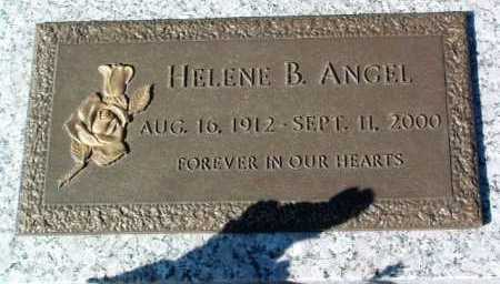 ANGEL, HELENE B. - Yavapai County, Arizona | HELENE B. ANGEL - Arizona Gravestone Photos