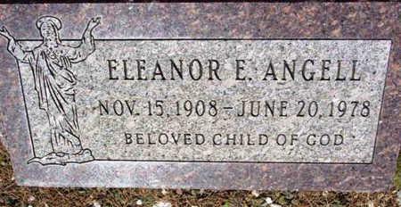 ANGELL, ELEANOR E. - Yavapai County, Arizona | ELEANOR E. ANGELL - Arizona Gravestone Photos
