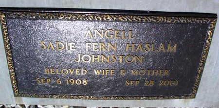 ANGELL, SADIE FERN - Yavapai County, Arizona | SADIE FERN ANGELL - Arizona Gravestone Photos
