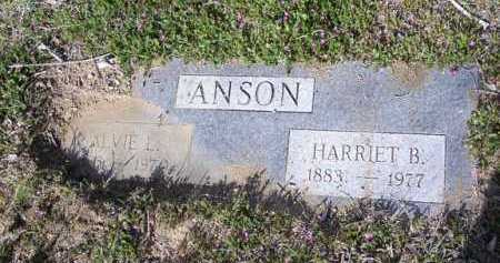 ANSON, HARRIET B. - Yavapai County, Arizona | HARRIET B. ANSON - Arizona Gravestone Photos