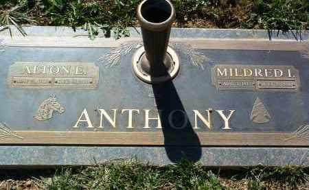 ANTHONY, MILDRED IMA - Yavapai County, Arizona   MILDRED IMA ANTHONY - Arizona Gravestone Photos