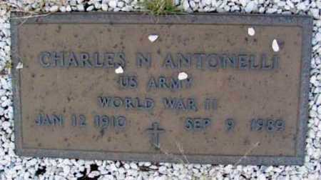 ANTONELLI, CHARLES N. - Yavapai County, Arizona | CHARLES N. ANTONELLI - Arizona Gravestone Photos