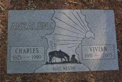 JUDE ANZALONE, VIVIAN RUTH - Yavapai County, Arizona | VIVIAN RUTH JUDE ANZALONE - Arizona Gravestone Photos