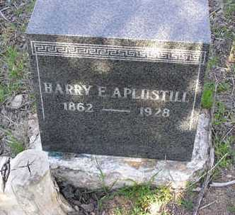 APLUSTILL, HARRY EDWARD - Yavapai County, Arizona | HARRY EDWARD APLUSTILL - Arizona Gravestone Photos