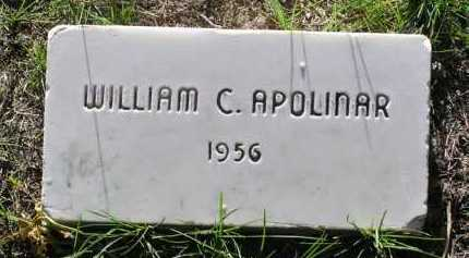 APOLINAR, WILLIAM C. - Yavapai County, Arizona | WILLIAM C. APOLINAR - Arizona Gravestone Photos